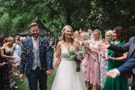Confetti Milling Barn Wedding Hertfordshire Emily Tyler Photography