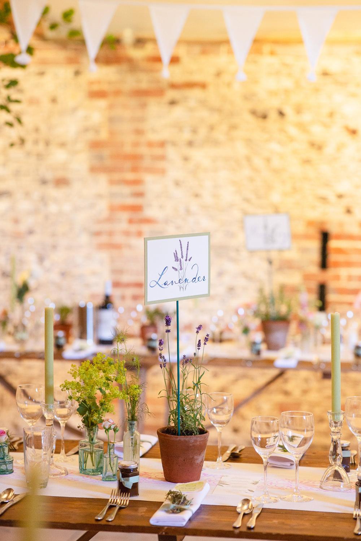 Terracotta Pot Table Names Rustic Tipi Wedding Cotton Candy Weddings