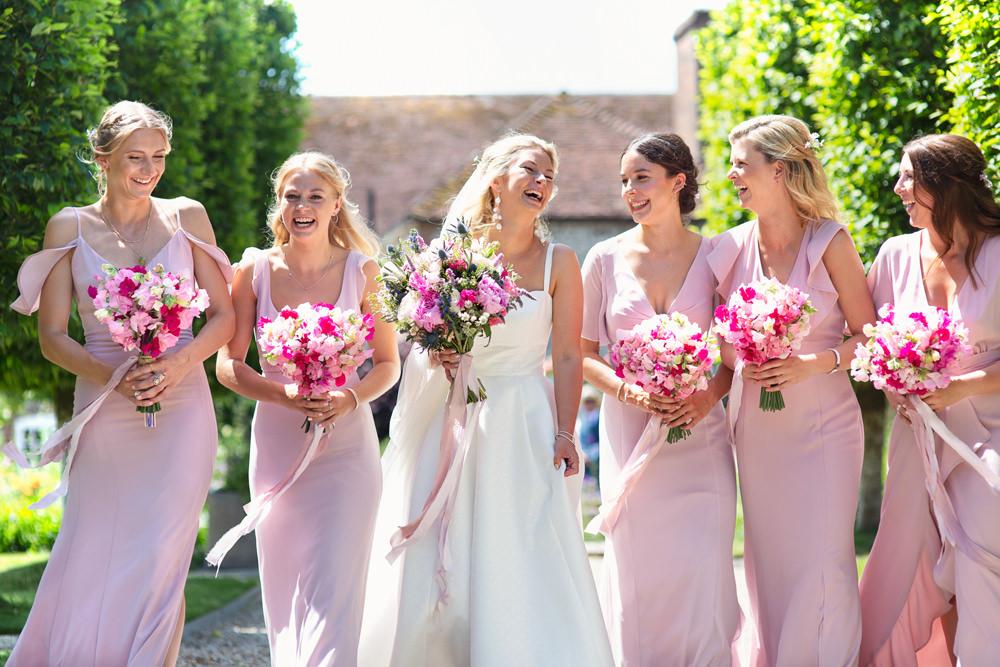 Bridesmaids Bridesmaid Dress Dresses Pink Rustic Tipi Wedding Cotton Candy Weddings