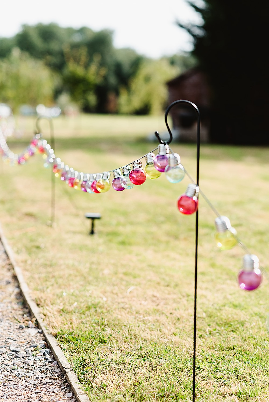 Festoon Lights Lighting Shepherd Crooks DIY Tipi Wedding Fiona Kelly Photography