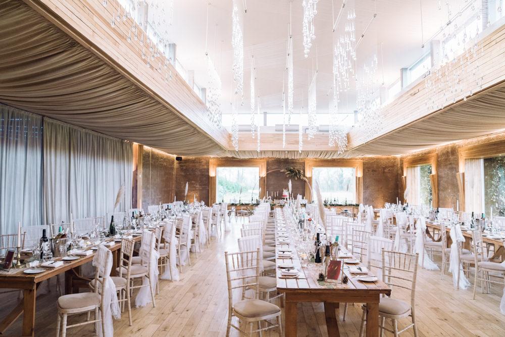 Long Tables Decadent Christmas Wedding Jessica Raphael Photography