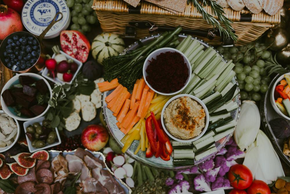 Grazing Table Sharing Platter Food Dreamy Woodland Wedding Ideas Jasmine Andrews Photography