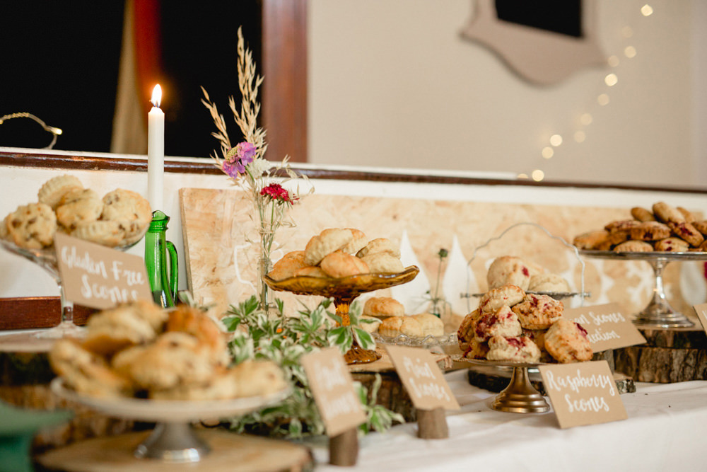 Scones Table Dessert Sheffield Town Hall Wedding Mark Newton Wedding Photography