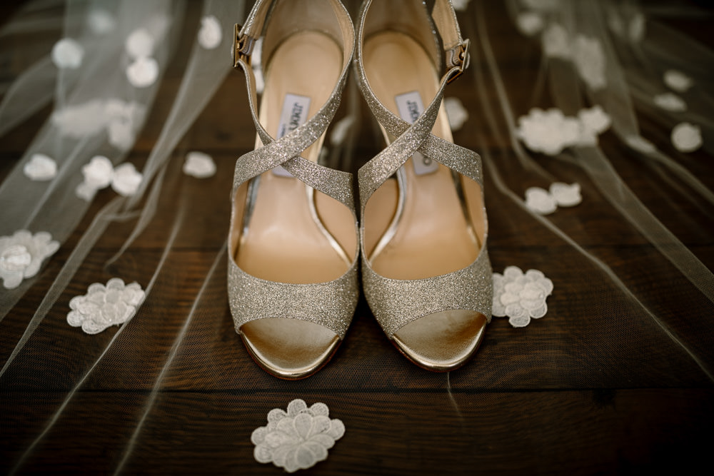 Jimmy Choo Shoes Bride Bridal Sperry Tent Wedding Hayley Baxter Photography