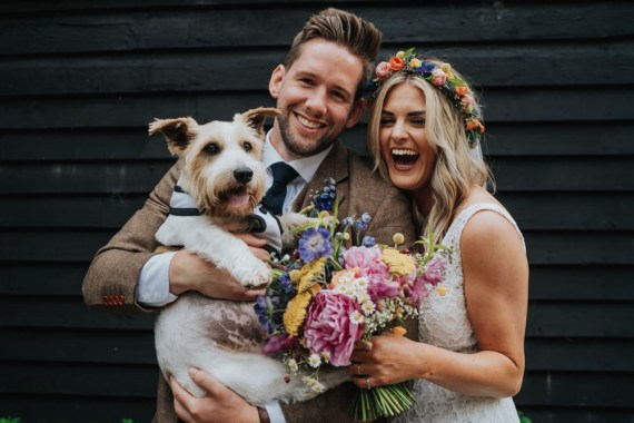 Dog Pet Animal Lovers Wedding Bloom Weddings
