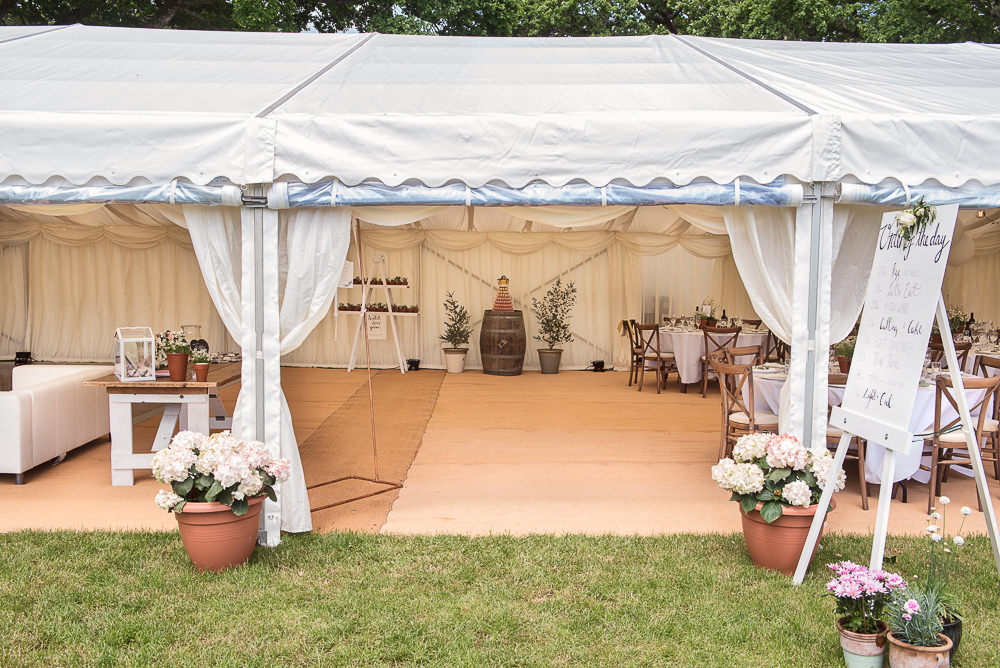 Marquee Entrance Sopley Lake Wedding One Thousand Words