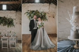 Grey Wedding Ideas Grace Elizabeth