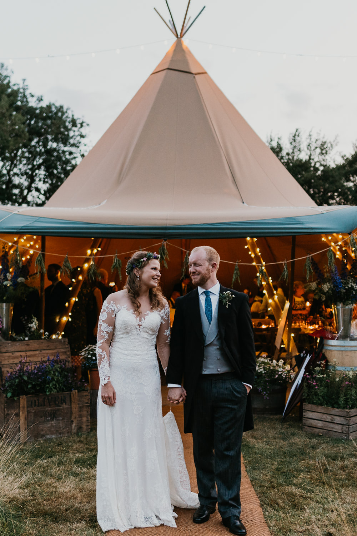Country Festival Wedding Jonny Gouldstone Photography Tipi Reception