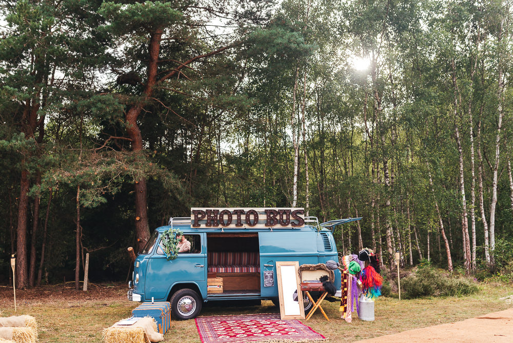 Photo Booth Bus Van Camper Festival Party Wedding Kirsty Mackenzie Photography