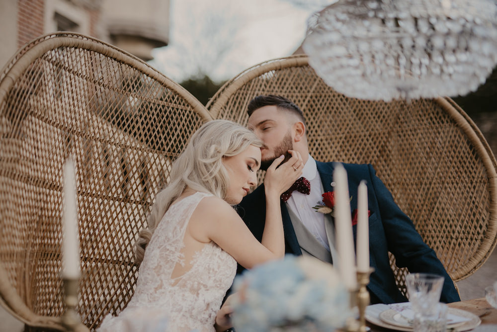 Peacock Chairs France Elopement Ideas Pierra G Photography
