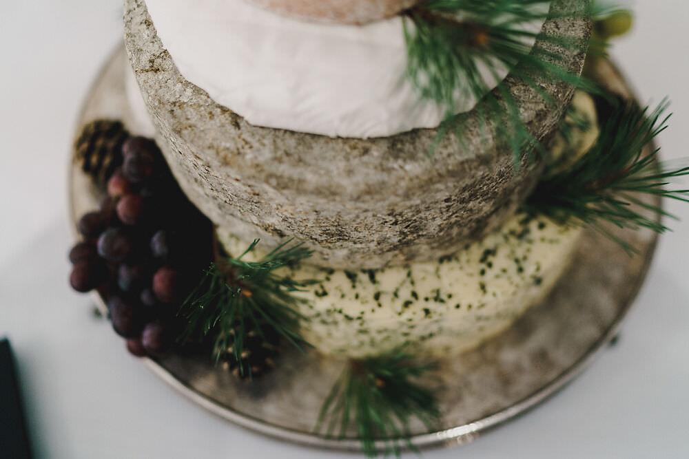 Cheese Stack Cake Tower Winding House Wedding MIKI Studios