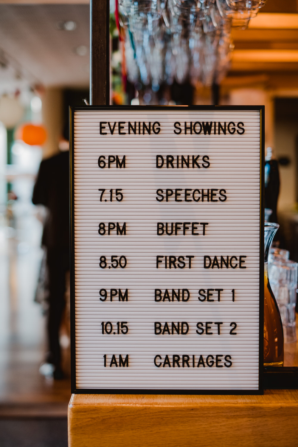 Sign Signs Signage HOME Manchester Wedding Kate McCarthy Photography