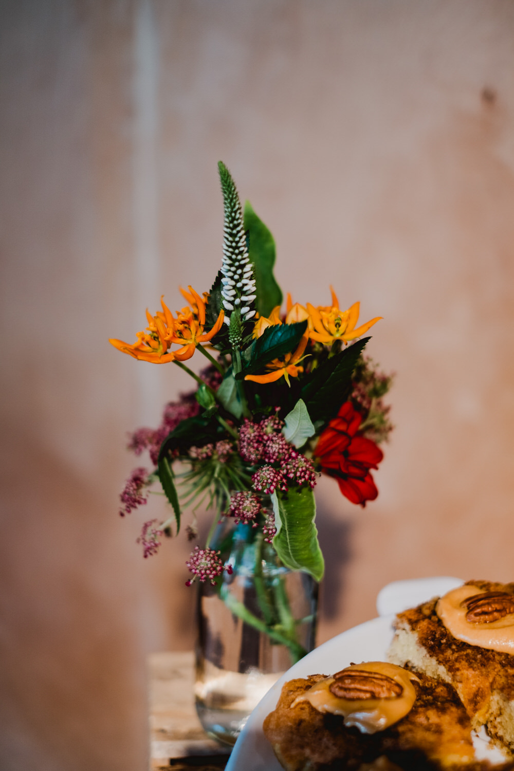Table Flowers Decor HOME Manchester Wedding Kate McCarthy Photography