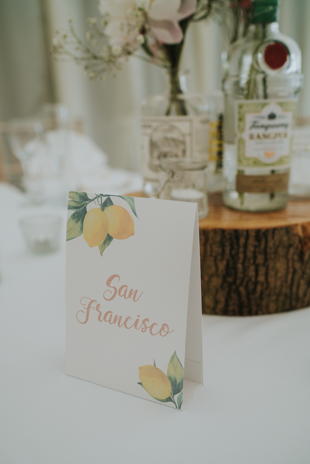 Place Table Names High House Weddings Grace Elizabeth Photography