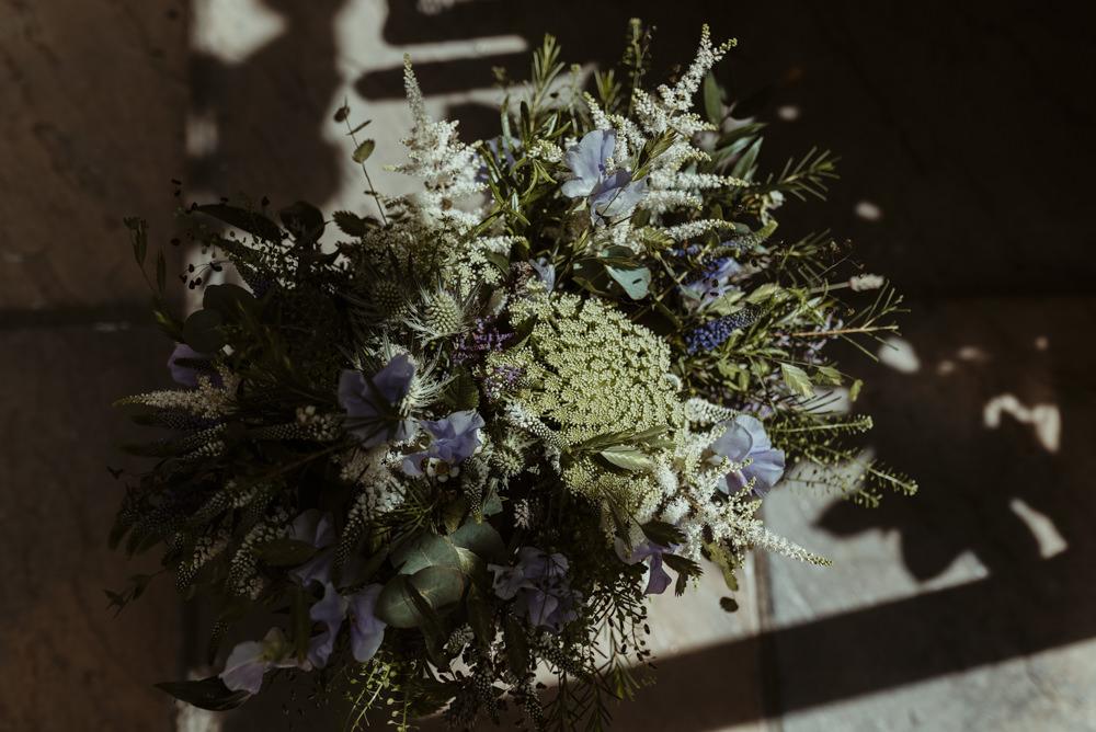 Bouquet Flowers Bride Bridal Greenery Foliage Red Brick Barn Wedding Jess Soper Photography