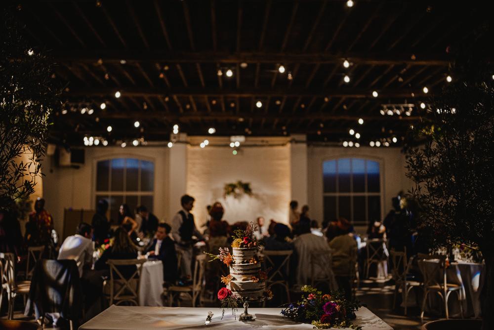 Cake Table Decor British Nigerian Wedding Andrew Brannan Photography