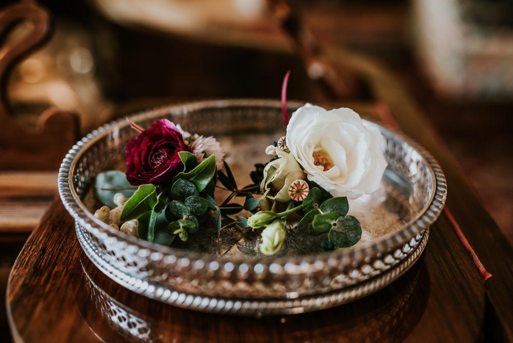 Buttonhole Flowers Chippenham Park Wedding Daniel Ackerley Photography