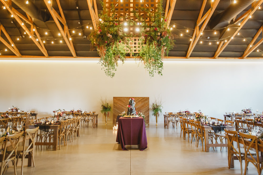 Barn Reception Venue Enchanted Forest Wedding Kristen Booth Photography