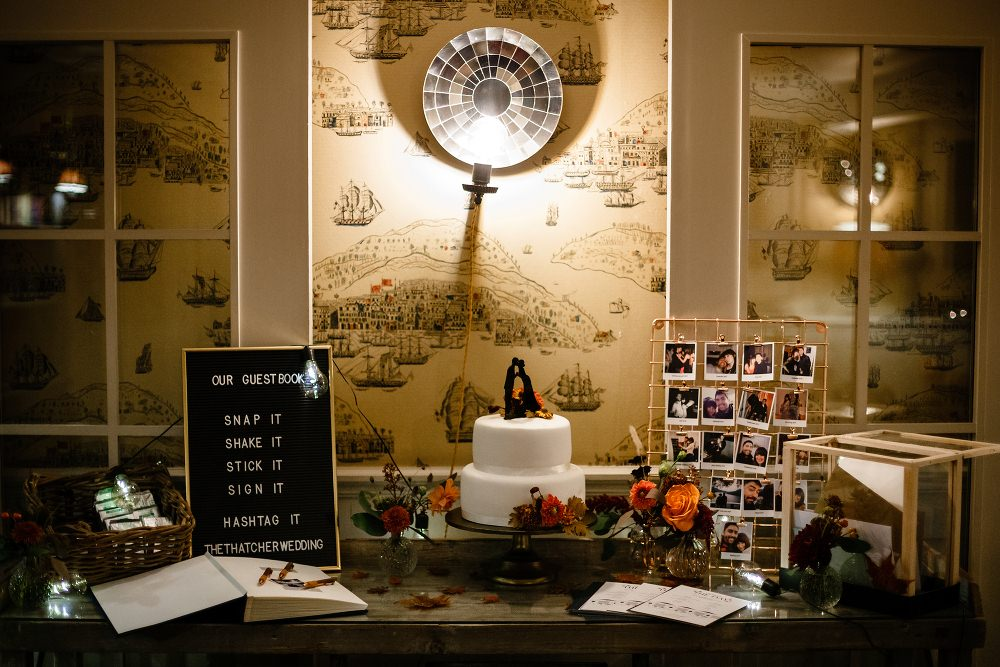Cake Table Great John Street Hotel Wedding About Today Photography