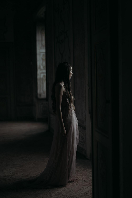 Dress Gown Bride Bridal Pink Straps Italy Elopement Ideas Gradisca Portento Fotografica