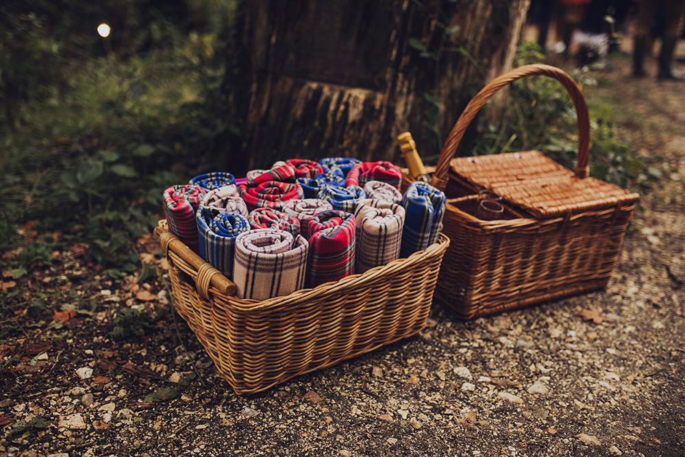 Blanket Basket Treehouse Wedding Honeydew Moments