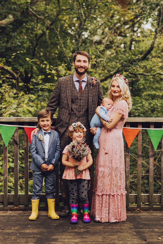 Children Family Page Boy Flower Girl Treehouse Wedding Honeydew Moments