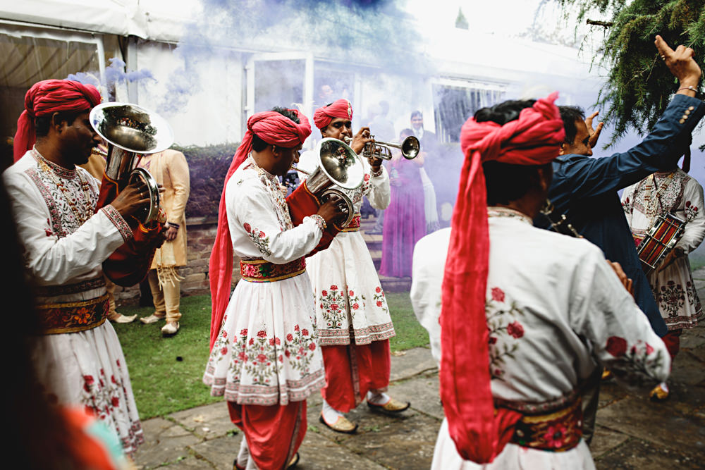 Brass Band Dunchurch Park Hotel Wedding HBA Photography