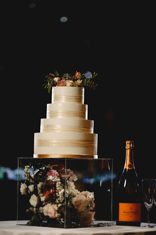M&S Cake Flowers Dunchurch Park Hotel Wedding HBA Photography