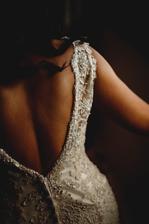 Dress Gown Bride Bridal Stella York Beaded Straps Dunchurch Park Hotel Wedding HBA Photography