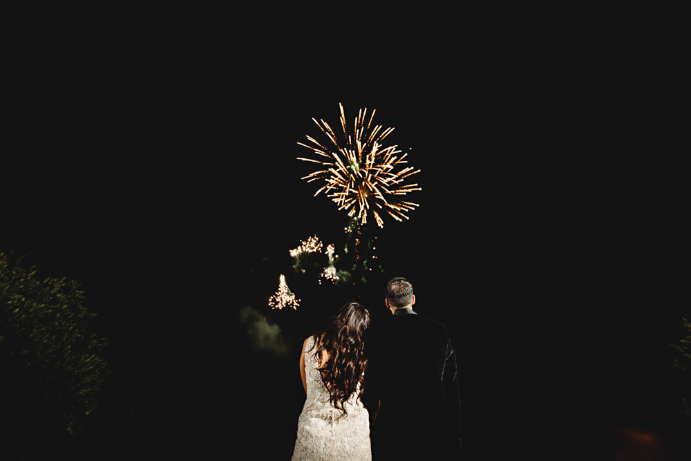 Fireworks Dunchurch Park Hotel Wedding HBA Photography