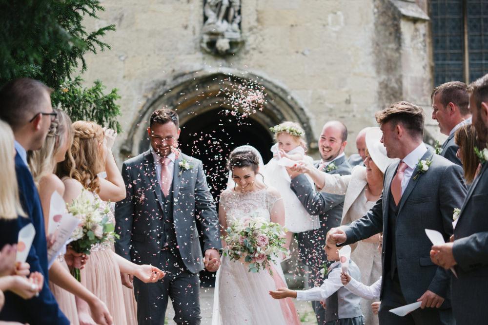 Confetti Field Kitchen Wedding Siobhan Amy Photography