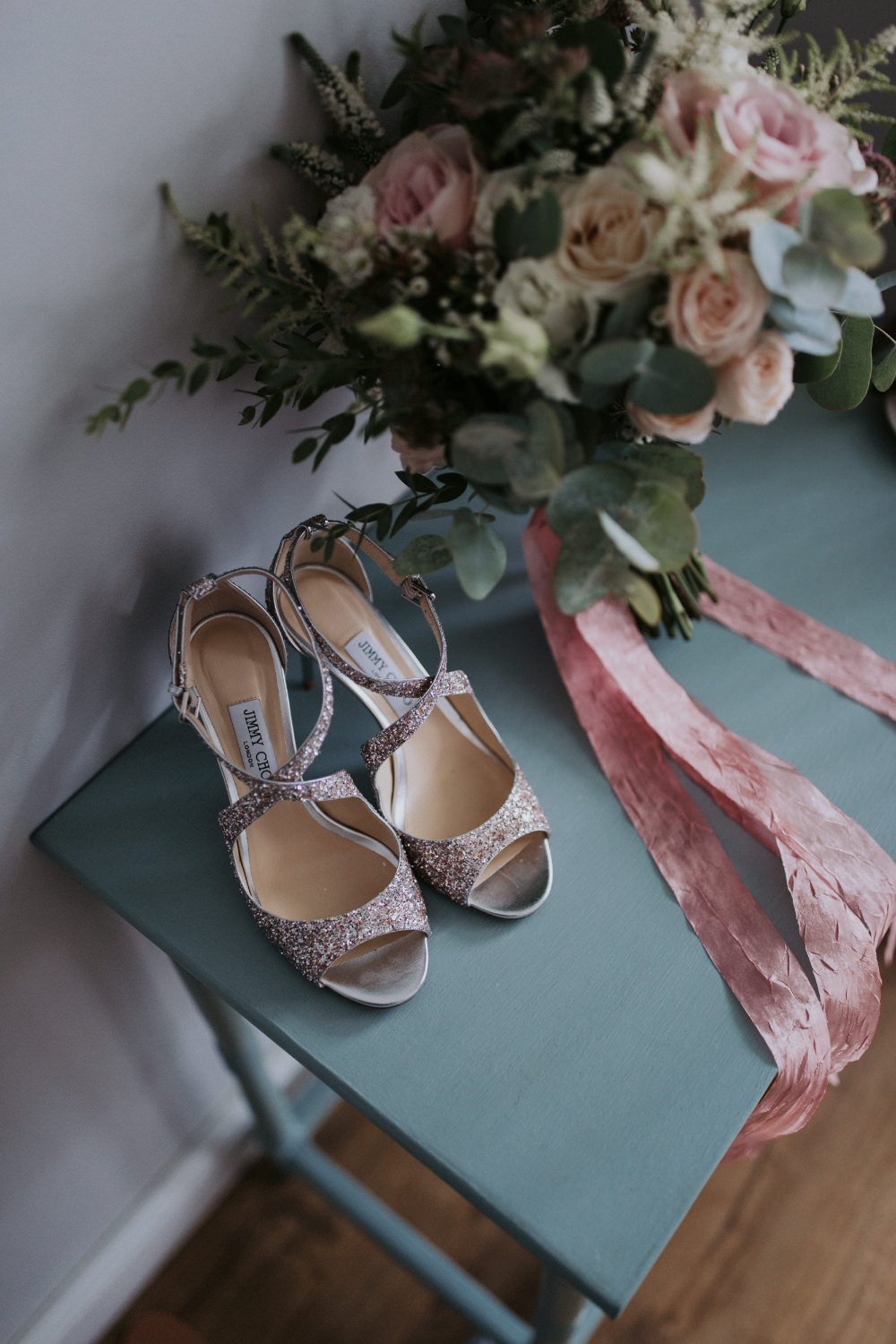 Bride Bridal Shoes Field Kitchen Wedding Siobhan Amy Photography