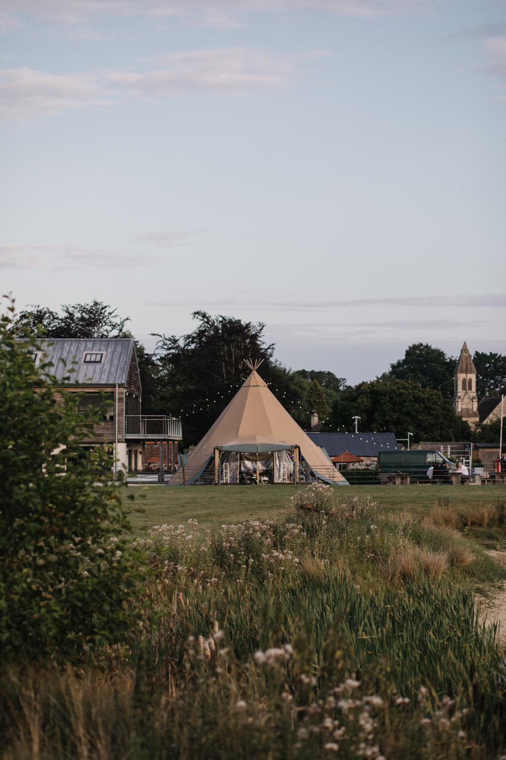 Tipi Field Kitchen Wedding Siobhan Amy Photography
