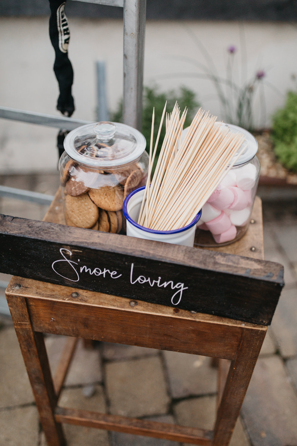 Smores Field Kitchen Wedding Siobhan Amy Photography