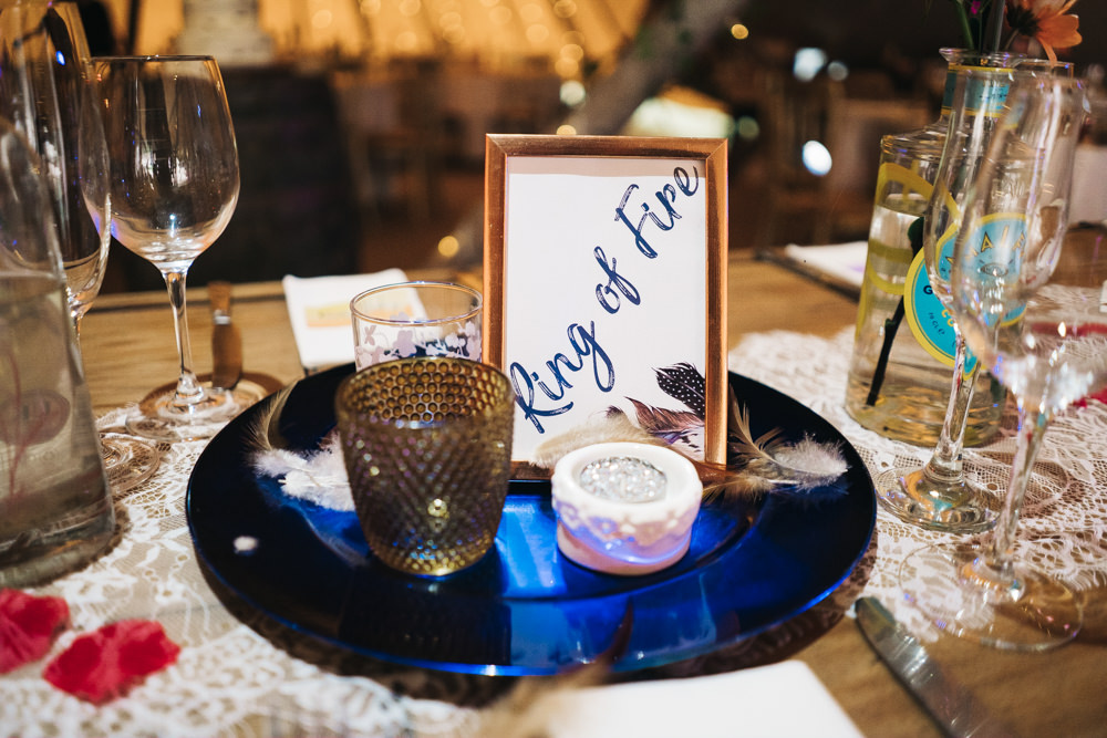 Table Name Hammer and Pincers Wedding Sally T Photography