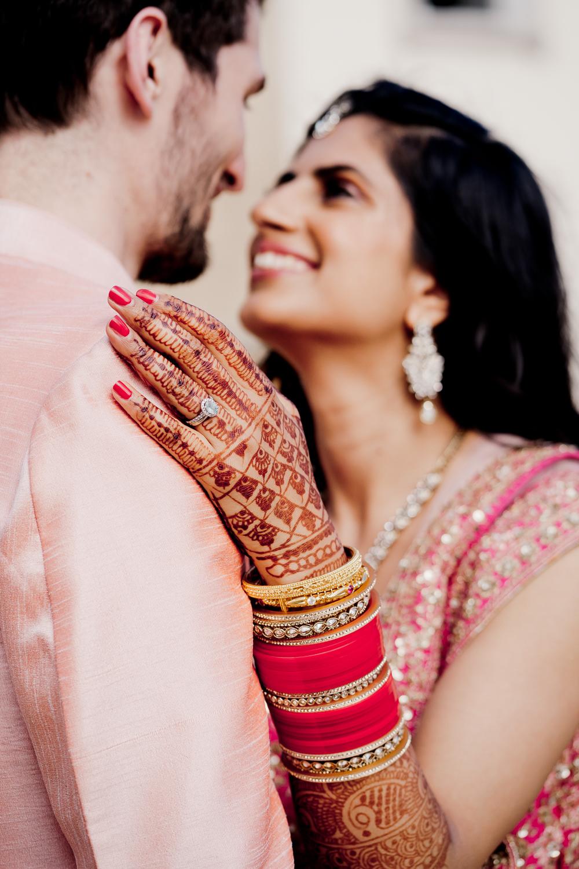 Engagement Ring Band Henna Bride Indian Wedding UK Laura May Photography