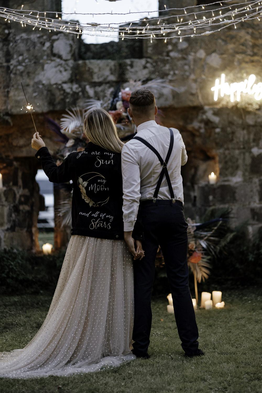Sparklers Sparkler Midsummer Night's Dream Wedding Ideas Dani Louise Photography