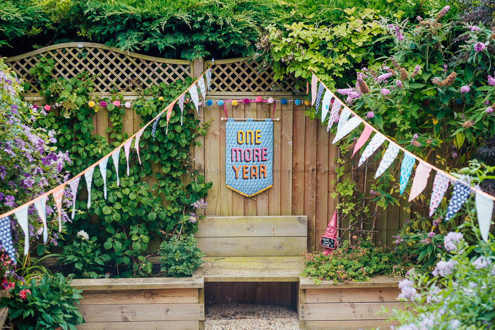 One More Year Banner Bunting Pandemic Wedding Anna Pumer Photography