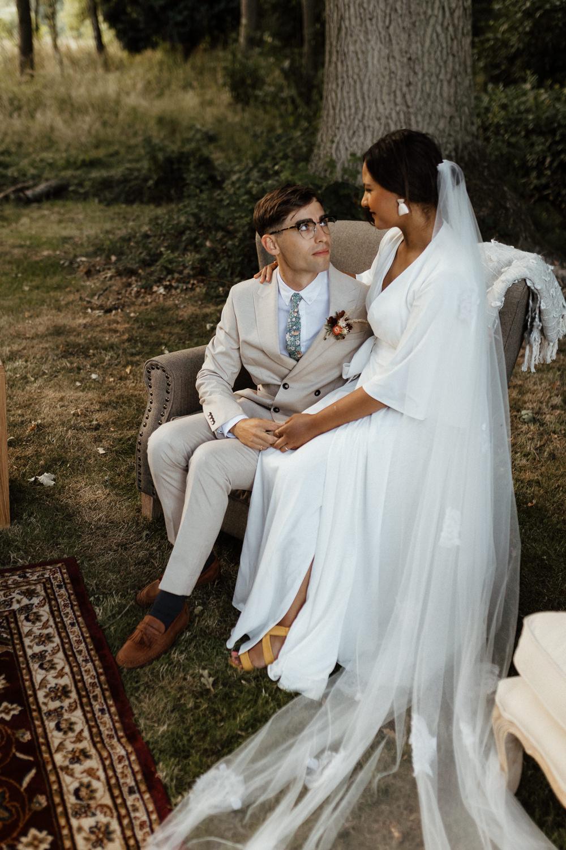 Seating Area Arm Chair Sofa Small Wedding Ideas UK Caitlin and Jones