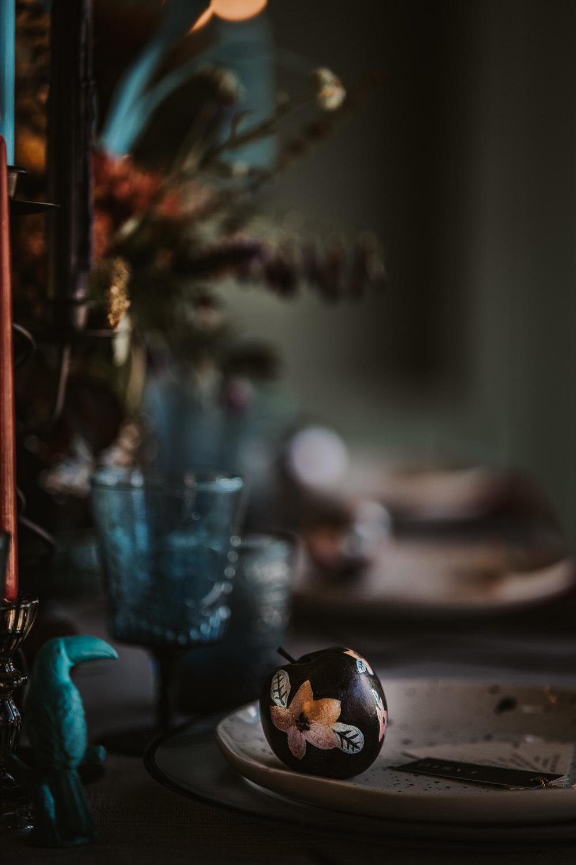 Painted Apple Floral Art Wedding Ideas Tom Halliday Photography