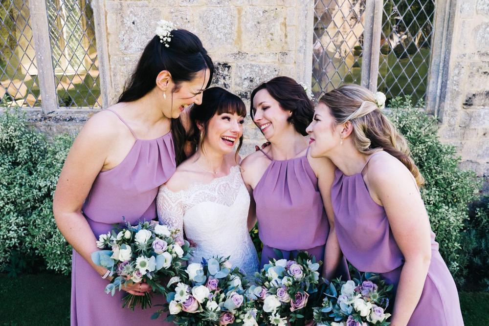 Bridesmaids Bridesmaid Dress Desses Lilac Castle View Wedding Sally T Photography