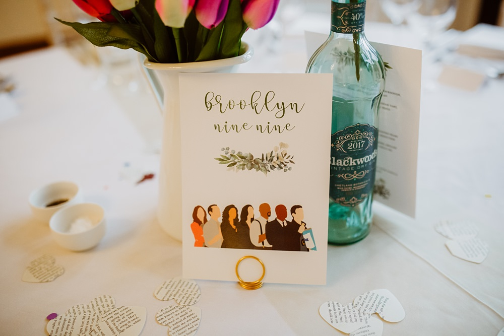 Wedding Table Names Holly Collings Photography
