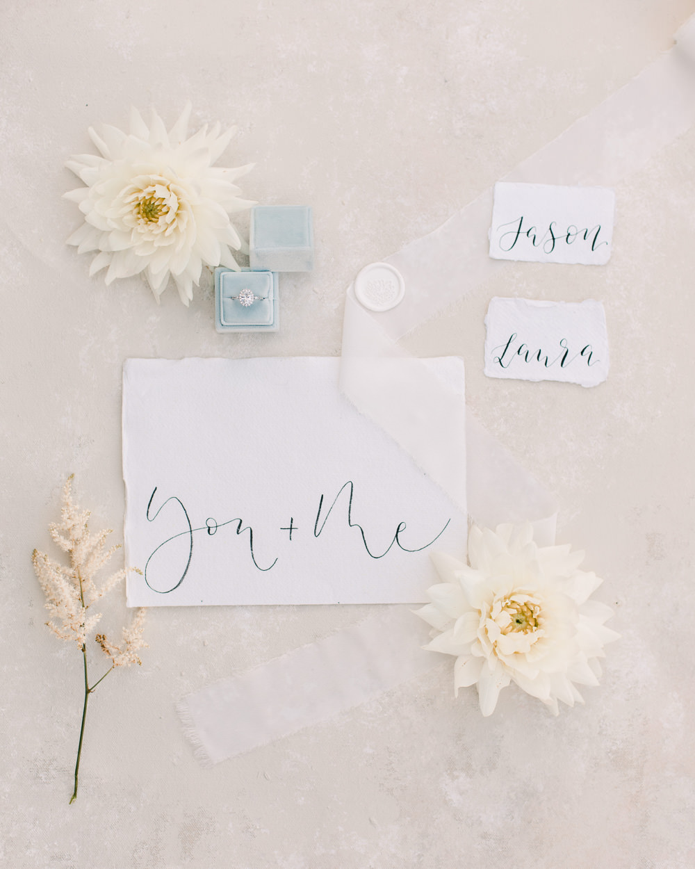 Calligraphy Stationery Family Elopement Ideas Sophie May Photo