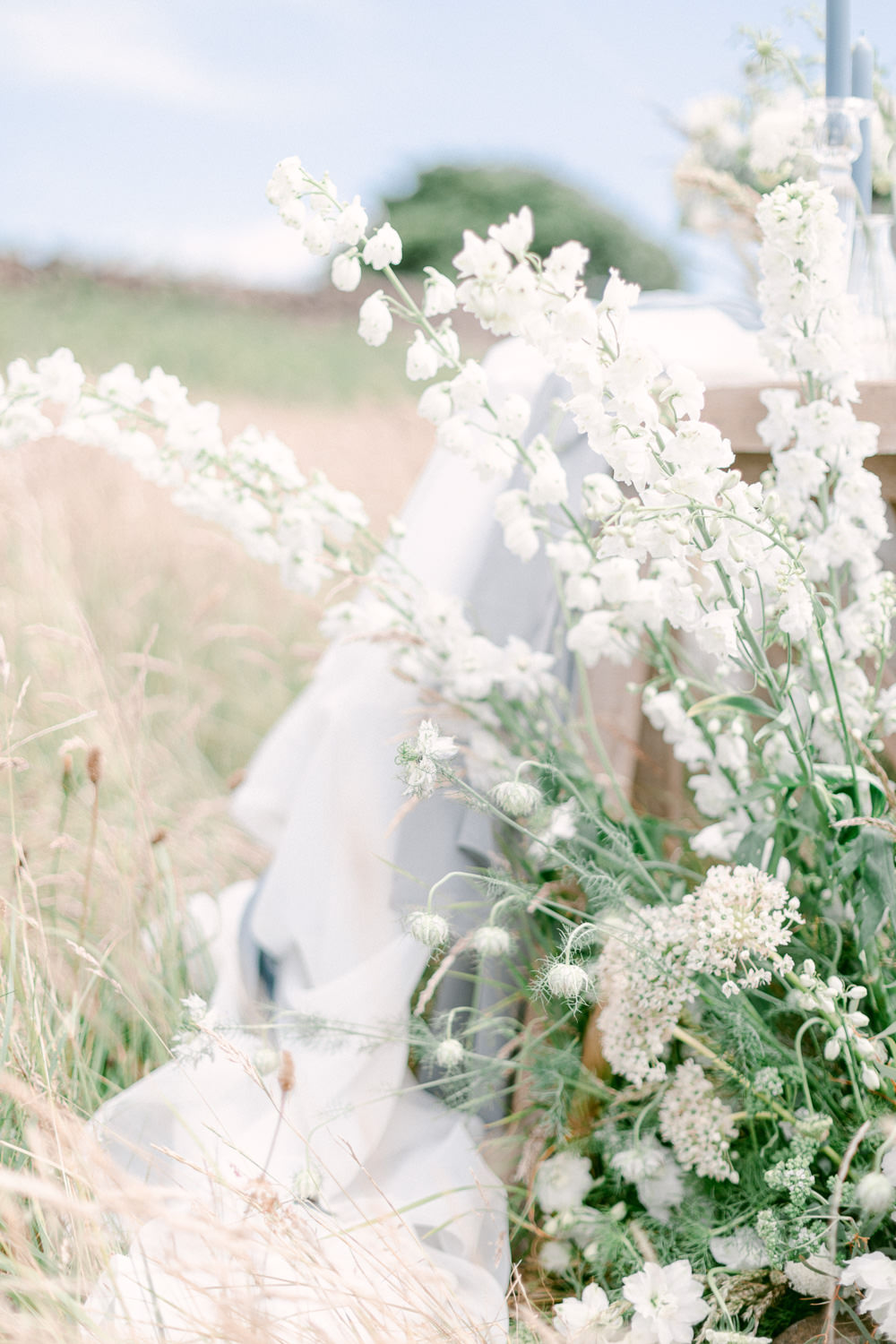 Meadow Flowers Floor Table Family Elopement Ideas Sophie May Photo