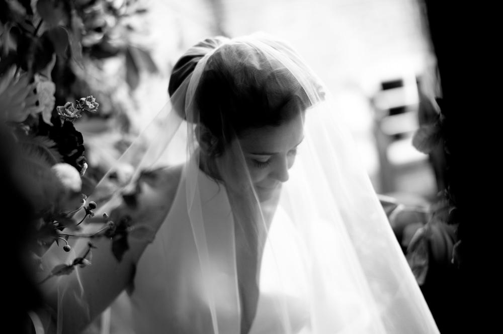 Bride Bridal Veil Floral Wedding Rachael Connerton Photography