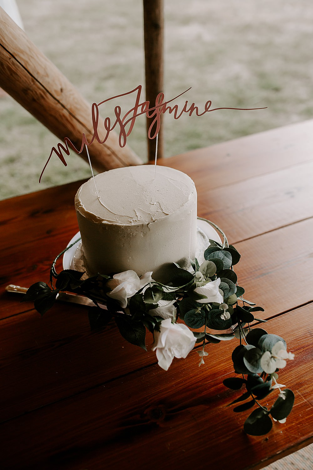 Buttercream Cake Flowers Topper Glevering Hall Wedding Sharon Cudworth Photography