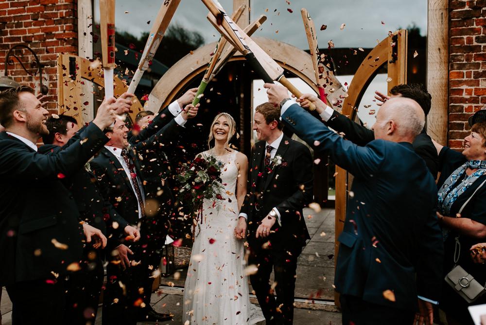 Confetti Throw Hazel Gap Barn Wedding The Light Painters