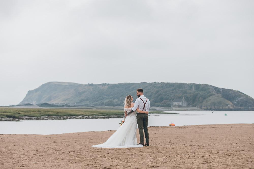 Beach Wedding UK Maria Madison Photographer