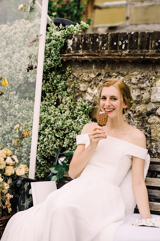 Garden Wedding Reception Jade Touron Photography