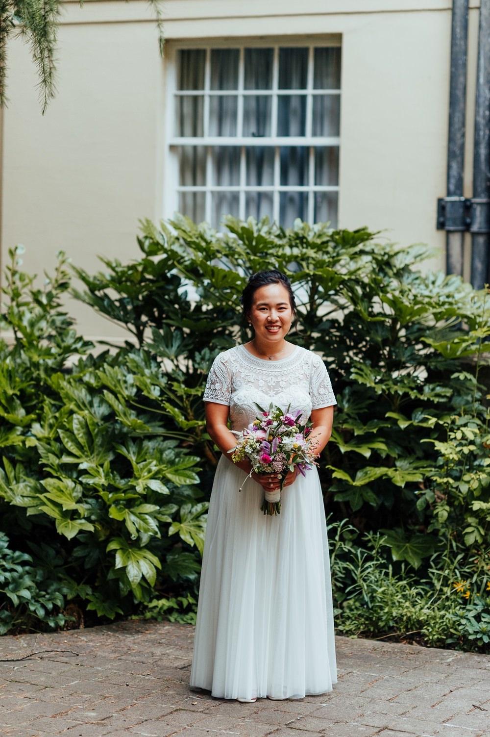 Monsoon Dress Gown Bride Bridal July 2020 Wedding Nathan Walker Photography